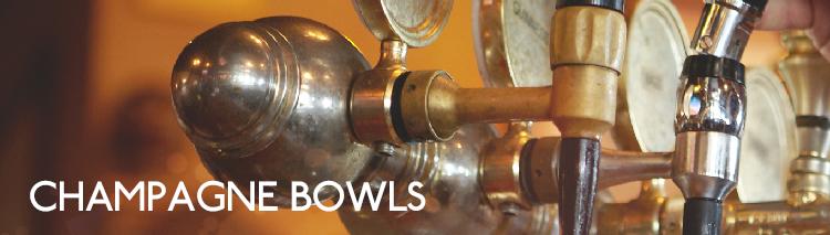 Champagne bowls