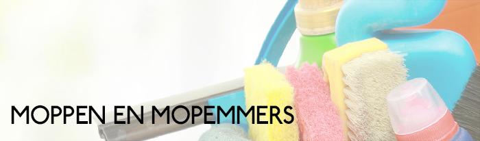 Moppen en mopemmers