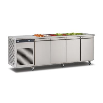 Foster EcoPro G2 1/4 koelwerkbank met saladette-optie