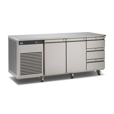 Foster EcoPro G2 koelwerkbank met 2 deuren en 3 lades