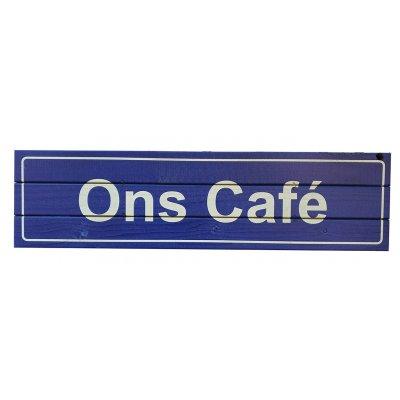 Ons café pubbord