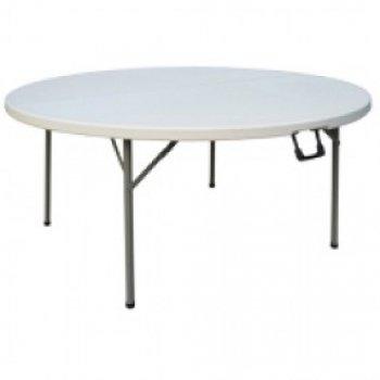 Ronde opklapbare tafel 150 cm bolero scherp geprijsd for Opklapbare tafel
