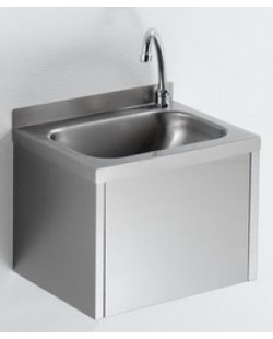 Handenwasbak met kniebediening