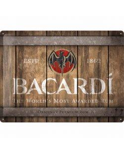Bacardi pubbord relief 40x30 cm