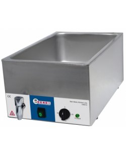 Bain-Marie Kitchenline met wateraftapkraan 1/1 gastronorm 150 mm