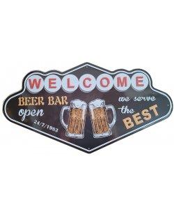Beer bar reclamebord