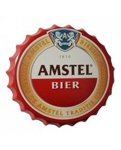 Amstel bierdop reclamebord