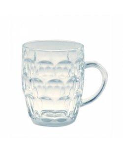 Te huur: Glazen bierpul, per 16