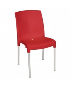 Bolero polypropyleen stoel zonder armleuning (per 4)