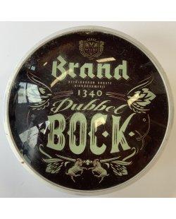 Occasion - Ronde taplens Brand Dubbel Bock bol 69 mmø