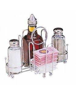 Tafelrekje olie, azijn, peper en zout
