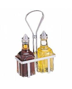 RVS olie/azijn rekje