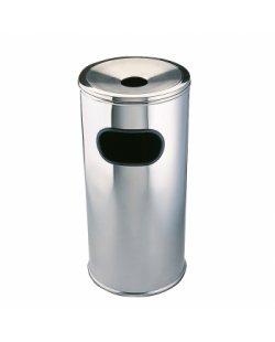 Lobby afvalbak RVS