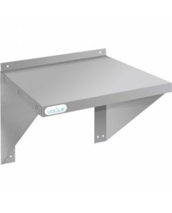 RVS Wandplank t.b.v. oven/magnetron