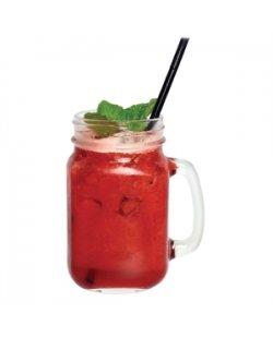 Glazen cocktailbeker