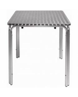RVS stapelbare vierkante tafel