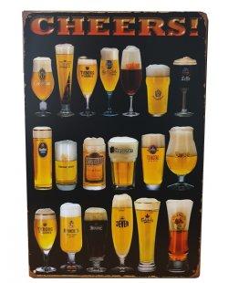 Cheers reclamebord