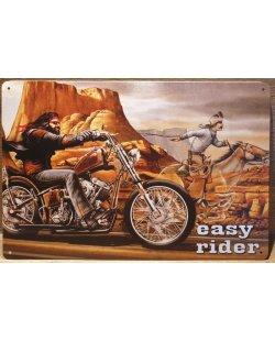 Easy rider reclamebord