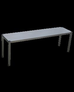 RVS etagere 1 niveau 400mm diep