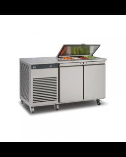 Foster EcoPro G2 2/2 koelwerkbank met saladette-optie  en afsluitbare deksel