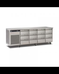 Foster EcoPro G2 koelwerkbank met 12 lades