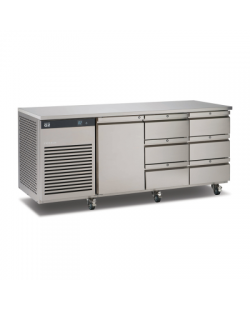 Foster EcoPro G2 koelwerkbank met 1 deur en 6 lades