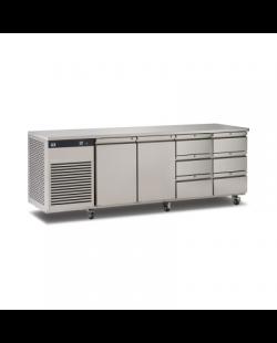 Foster EcoPro G2 koelwerkbank met 2 deuren en 6 lades
