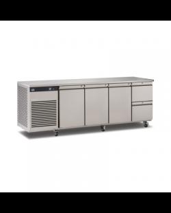 Foster EcoPro G2 koelwerkbank met 3 deuren en 2 lades