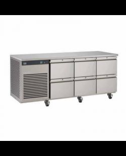 Foster EcoPro G2 koelwerkbank met 6 lades
