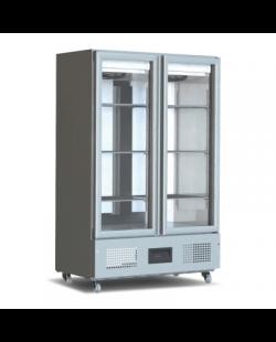 Foster koelkast Slimline 800 liter glasdeur