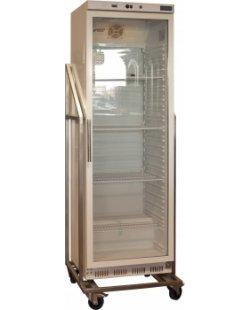 Te Huur: RVS evenementen koelkast in frame 400L