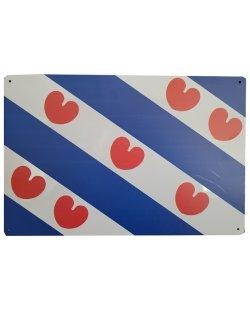 Friesche vlag reclamebord