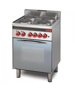 Gastro-M elektrisch fornuis 60/60CFE