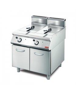 GastroM gas friteuse 26L 700 lijn