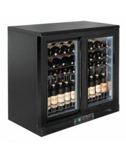 Polar wijnkoeling met dubbele klapdeuren