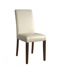 Kunstlederen stoelen, 2 stuks