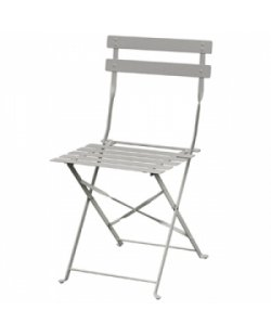 Bolero stalen stoel, diverse kleuren (per 2)