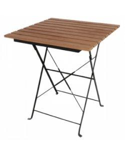 Bolero bistro tafel hout look