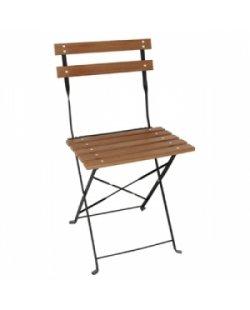Bolero bistro stoel hout 'look'