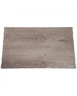 Melamine schaal hout effect