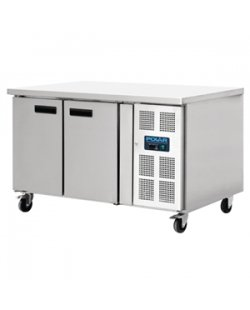 Polar 2-deurs patisserie counter 427L