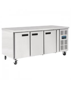Polar 3-deurs patisserie counter 634L