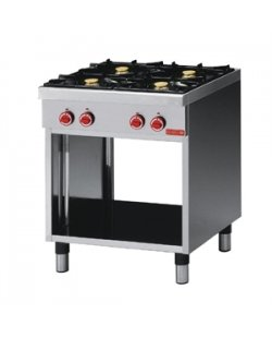 GastroM Gaskooktafel met 4 branders 700 lijn