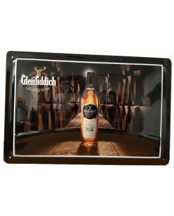 Glenfiddich reclamebord