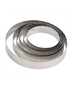 De Buyer mousse ring RVS