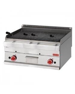 Gastro-M gas lavasteen grill 650 lijn