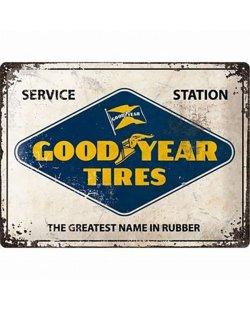 Goodyear tires reclamebord