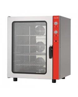 GastroM convectie oven 10x600x400x met bevochtiger 400V