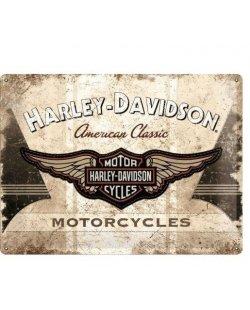 Harley-davidson reclamebord american classic