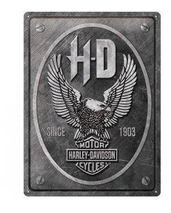 Harley-davidson reclamebord eagle